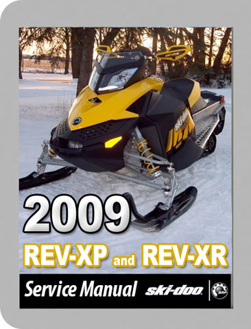 2009 Ski-Doo 2009 REV-XP Full Service Manual