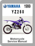 1999 Yamaha YZ250 Full Service Manual
