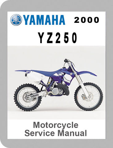2000 Yamaha YZ250 Full Service Manual
