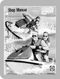 1990 to 1991 Sea-Doo All 1990-91 Full Service Manual