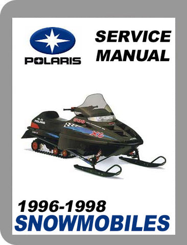 1996 to 1998 Polaris All 1996-98 Full Service Manual