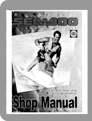 1994 Sea-Doo All 1994 Full Service Manual