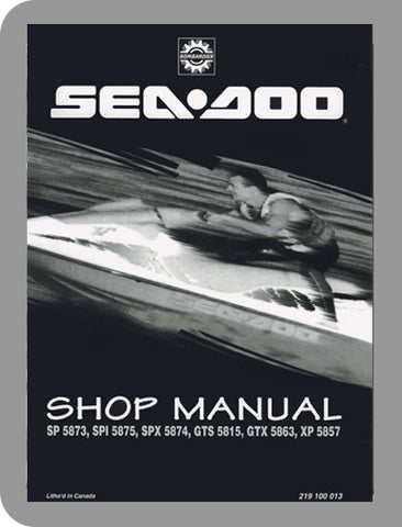 1995 Sea-Doo All 1995 Full Service Manual