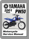 2001 Yamaha PW50 Full Service Manual