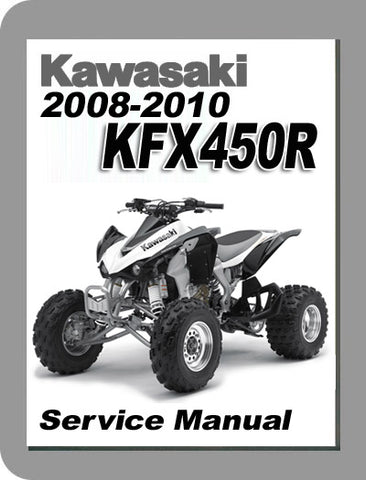 2008 to 2010 Kawasaki KFX450 Full Service Manual