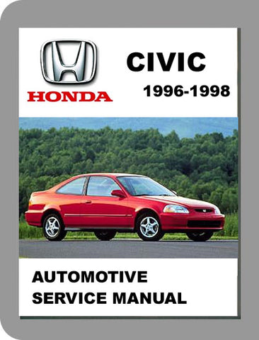 1996 to 1998 Honda Civic Full Service Manual