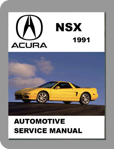 1991 Acura NSX Full Service Manual