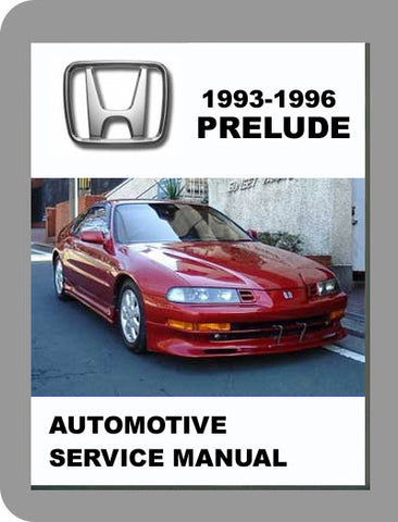 1993 to 1996 Honda Prelude Full Service Manual