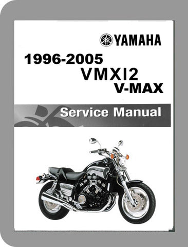 1996 to 2005 Yamaha VMX12  V-Max Full Service Manual