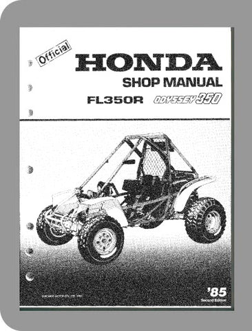 1985 Honda Odyssey FL350 Full Service Manual