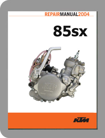 1999 to 2004 KTM 85 SX Full Engine Service Manual