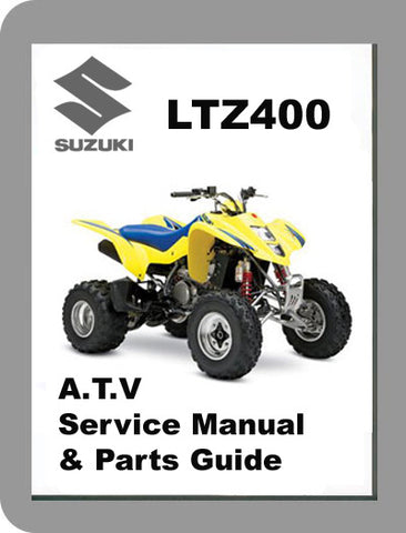 2003 to 2006 Suzuki LTZ400 Full Service & PArts Manual