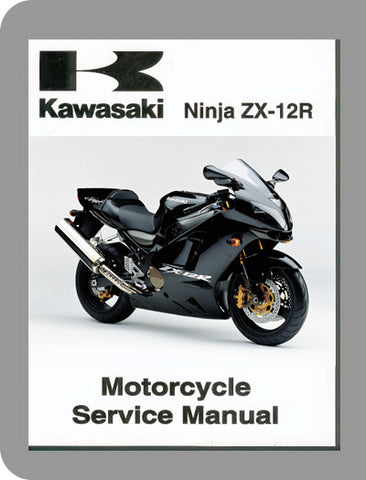 2000 Kawasaki Ninja ZX-12 Full Service Manual