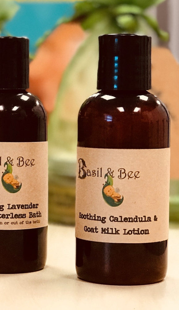 Soothing Calendula & Goats Milk Lotion