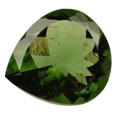 Moldavite Faceted Gemstones | InnerVision Crystals