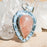 Strawberry Quartz Pendant 11.10 ct 40mm