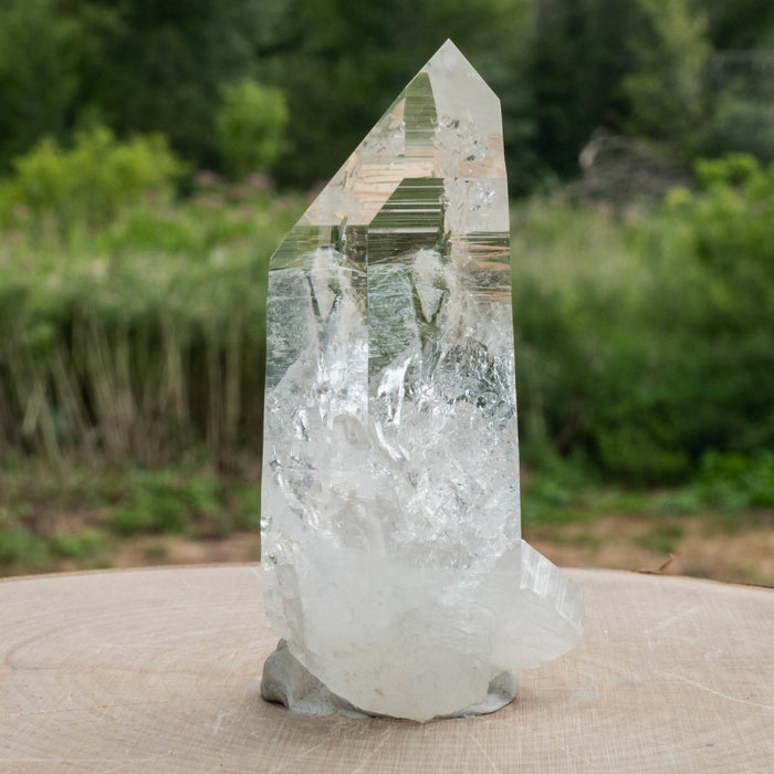 Colombian Lemurian Quartz Crystal 151 g 83x40mm A+ - InnerVision Crystals