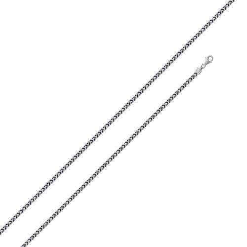 Sterling Silver .925 Chain | Franco 1.3mm - InnerVision Crystals