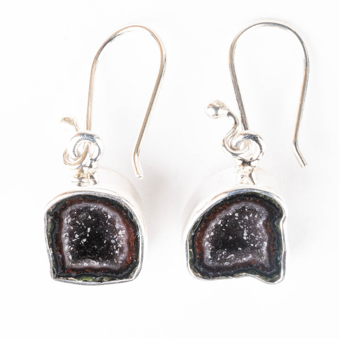 Tabasco Geode Earrings 30mm - InnerVision Crystals