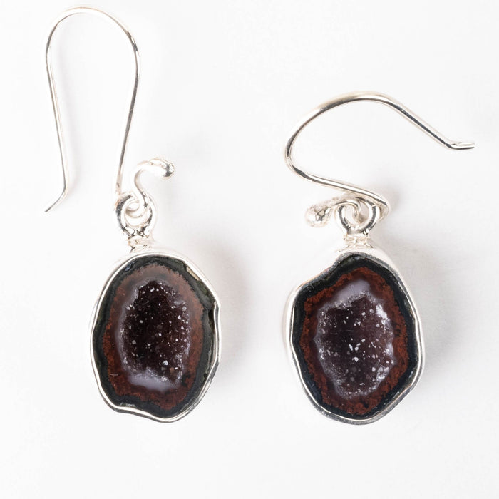Tabasco Geode Earrings 32mm - InnerVision Crystals