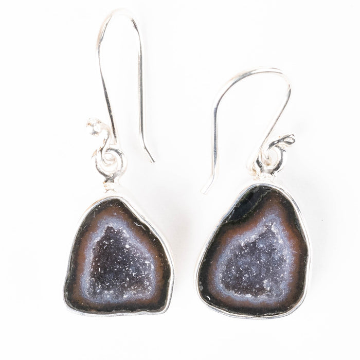 Tabasco Geode Earrings 34mm - InnerVision Crystals