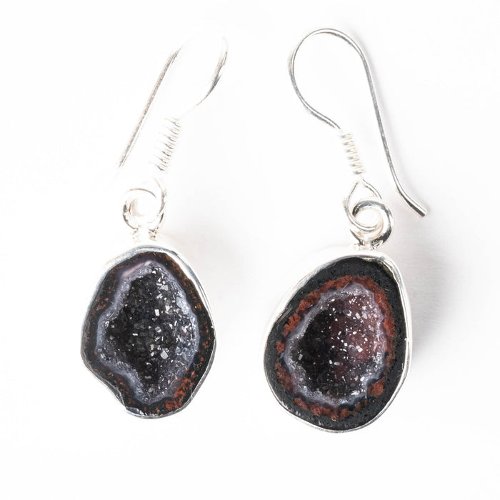 Tabasco Geode Earrings 35mm - InnerVision Crystals