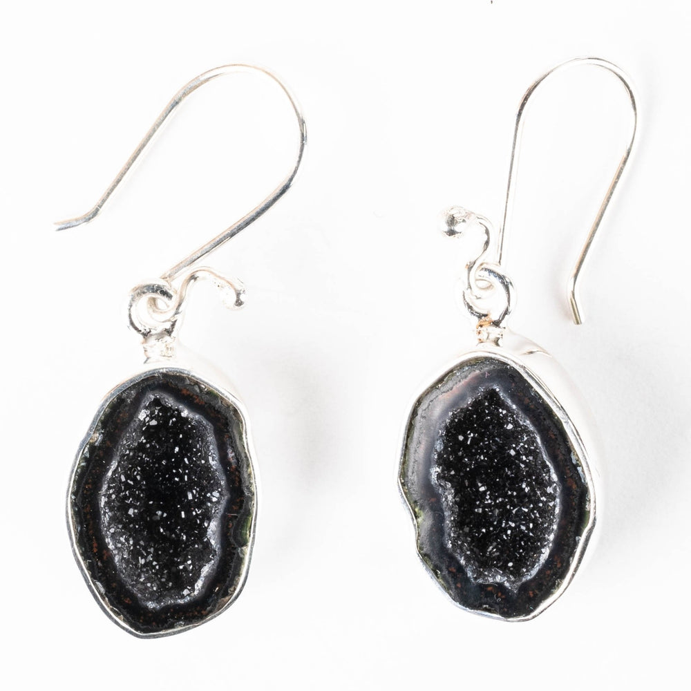 Tabasco Geode Earrings 36mm - InnerVision Crystals
