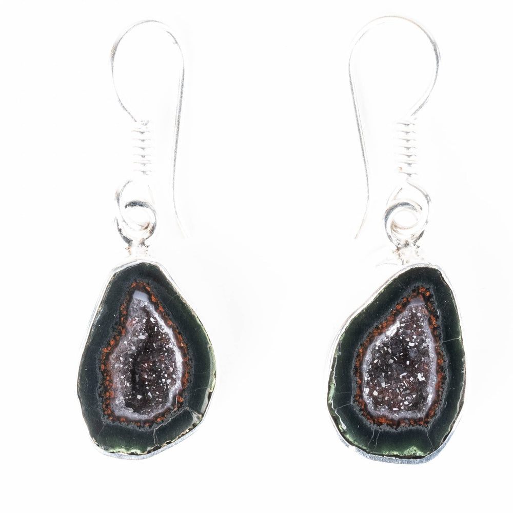 Tabasco Geode Earrings 37mm - InnerVision Crystals