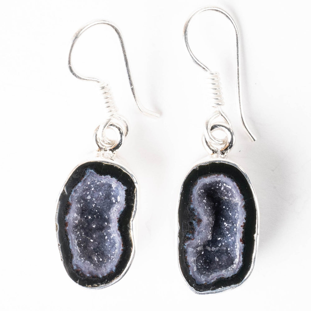 Tabasco Geode Earrings 38mm - InnerVision Crystals