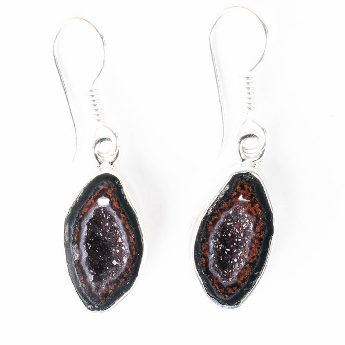 Tabasco Geode Earrings 39mm - InnerVision Crystals