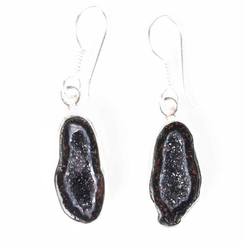 Tabasco Geode Earrings 40mm - InnerVision Crystals