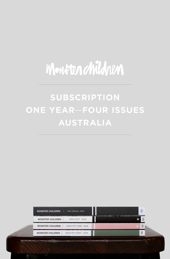 1 Year Subscription Within Australia