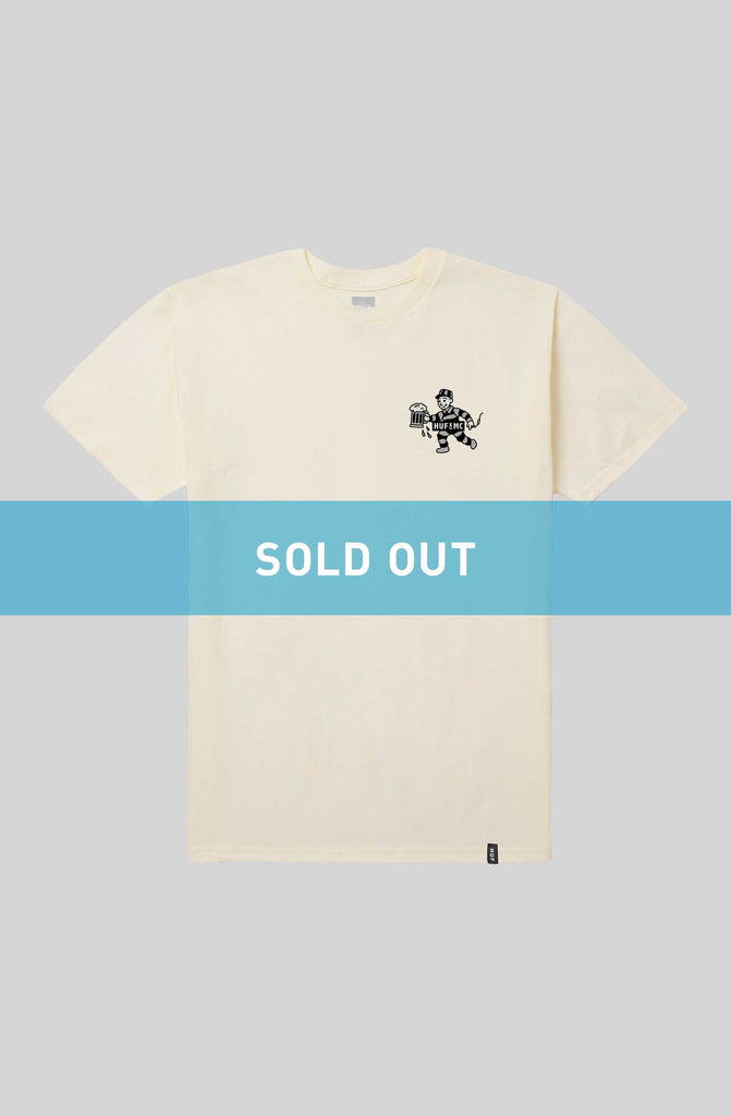 HUF x MC Bubbles Tee - Cream