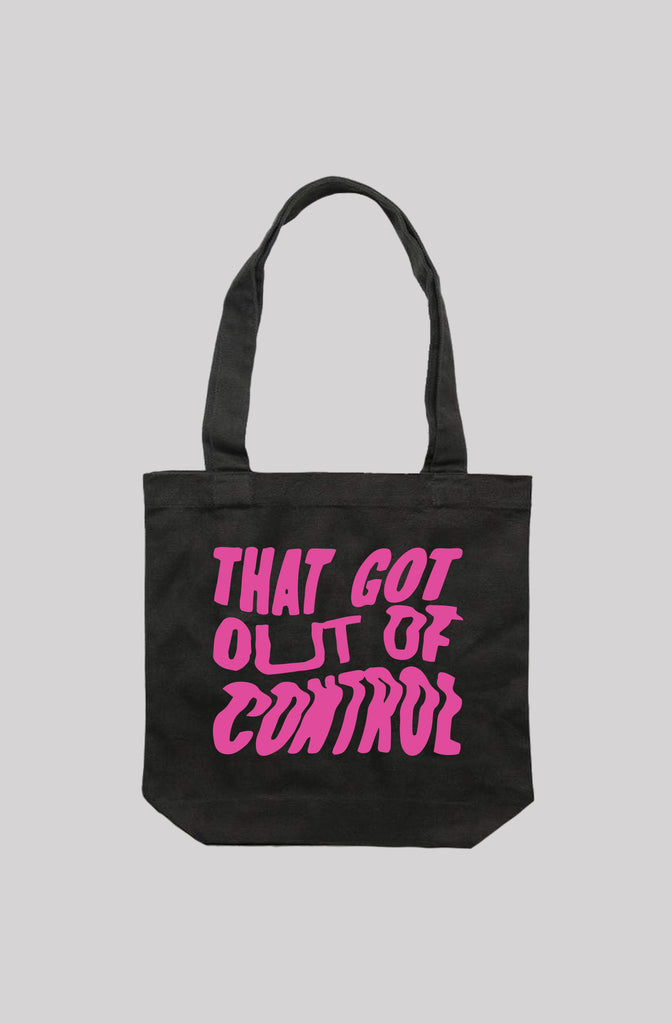 Out Of Control Tote Bag.