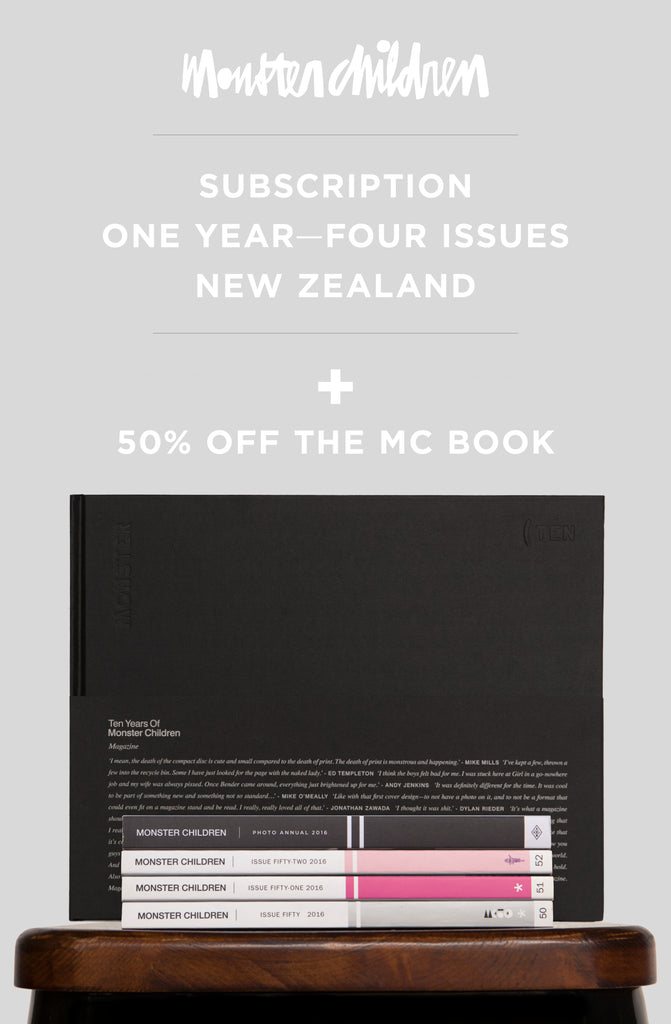 1 Year Subscription To New Zealand + MC Book