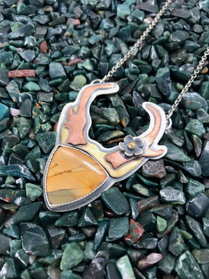 Goddess of the Desert: Antelope Pendant 2
