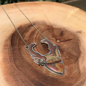 Goddess of the Desert: Antelope Pendant 1