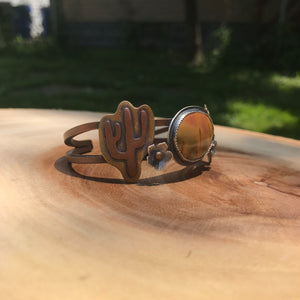 Goddess of the Desert: Landscape Cuff