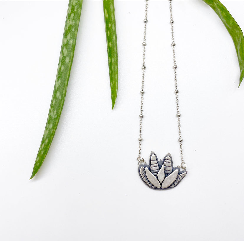 Made-To-Order Aloe Vera Necklace