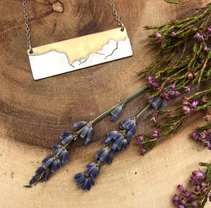 Yosemite Valley Bar Necklace