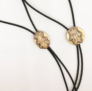 Insecta Collection: Beetles- Circular Bolo Tie