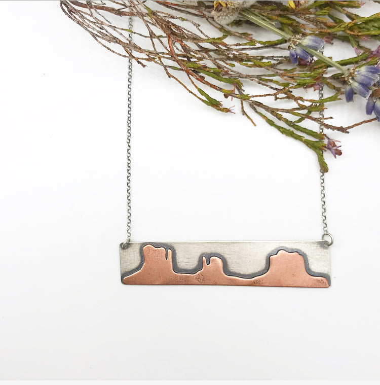 Monument Valley Bar Necklace