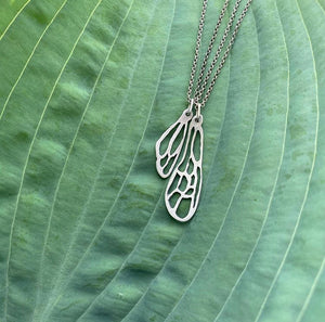 Insecta Collection: Bee Wing Pair of Necklaces