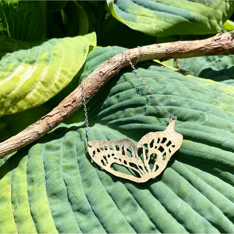 Insecta Collection: Butterfly Wing Necklace #2