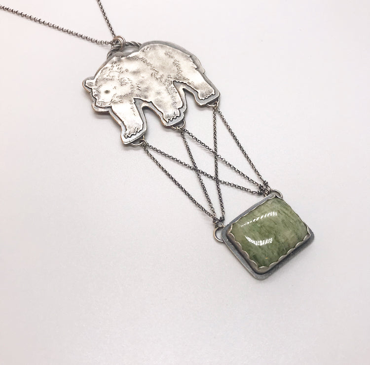 Blue Ridge: Large Bear Pendant