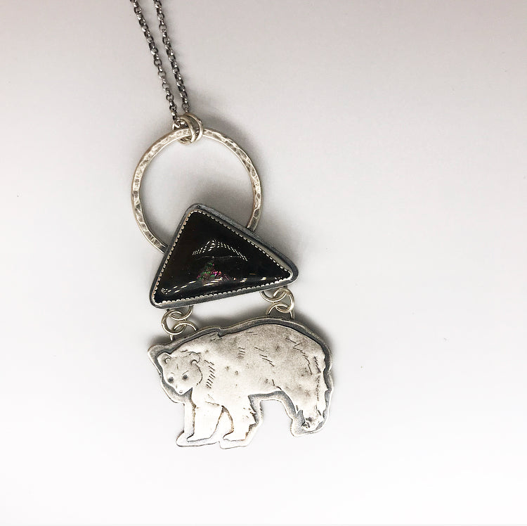 Blue Ridge: Medium Bear Pendant