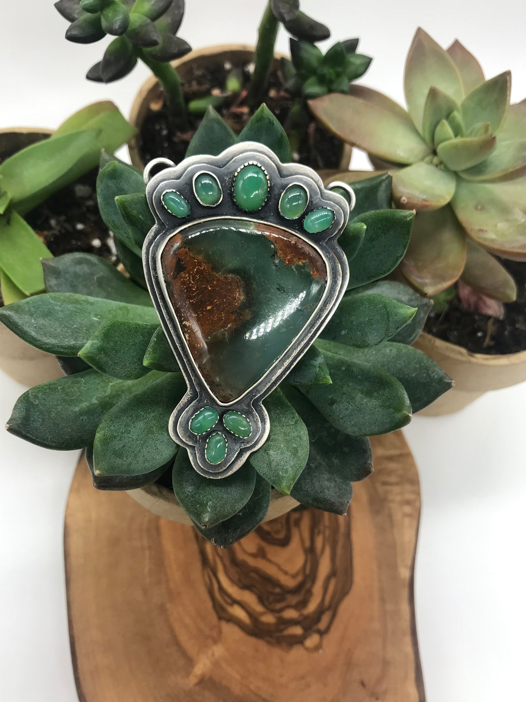 Colorado River Collection: Saguaro Pendant