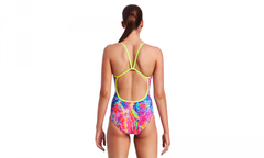 Funkita Ladies Single Strap One Piece - Kaleidocolour