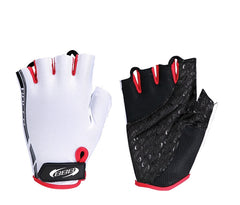 BBB RACER GLOVE WHITE/RED (BBW-37-WHRE)
