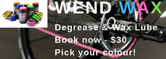 Wend Wax - degrease and lube